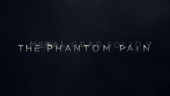 The Phantom Pain/Metal Gear Solid 5 Logo