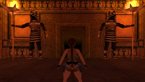 Tomb Raider 4 The Times level