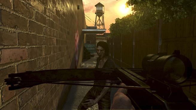 The Walking Dead: Survival Instinct crossbow