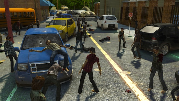 The Walking Dead: Survival Instinct zombie herd