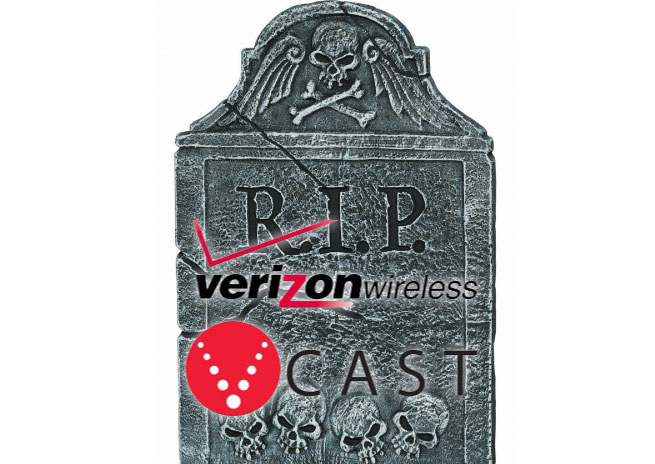 Vcast dead