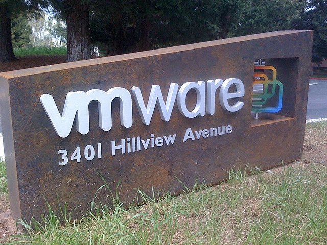 VMware corporate sign