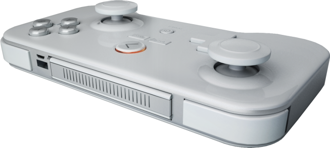 The analog sticks now stick out more and have a ridge to better grip your thumb.