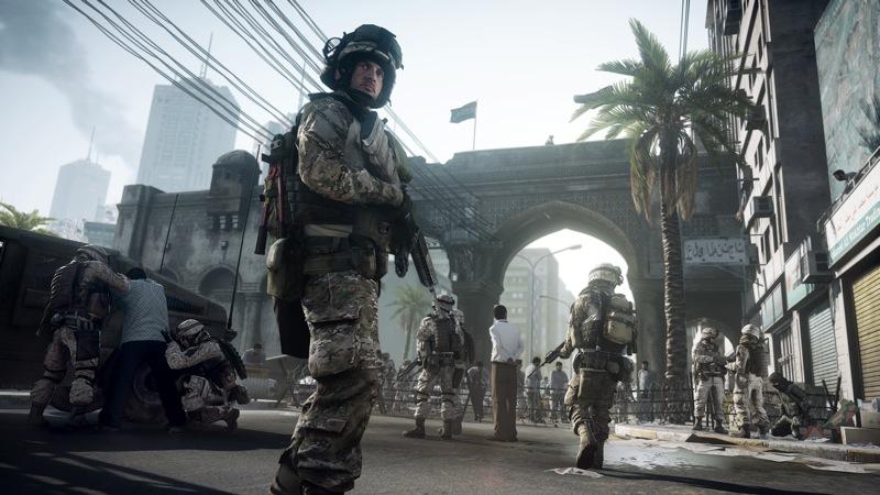 Battlefield 3 screen