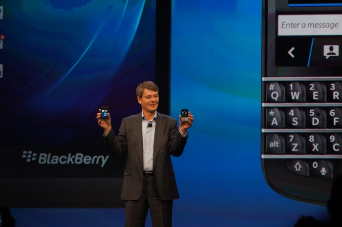 BlackBerry 10 launch, Thorsten Heins