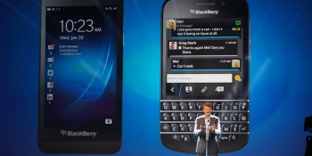BlackBerry comes to its senses: Future devices will have mostly keyboards, not touchscreens