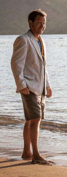 Cliff Bleszinski - beach