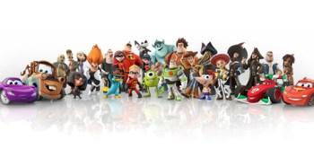 Watch the Disney Infinity figures wiggle in 3D