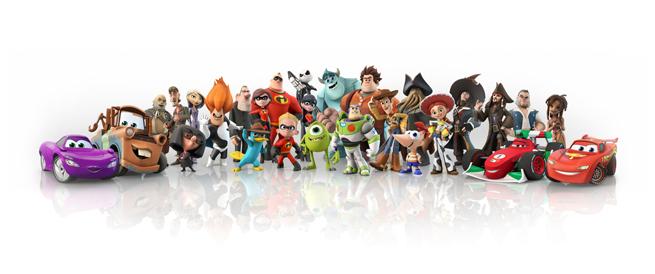 Disney and Pixar character compilation