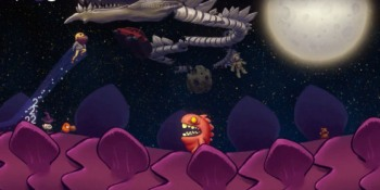 Dragon Runner is a space-based indie game that's as deep and accessible as Mario