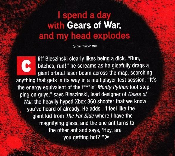 EGM intro (Gears of War)