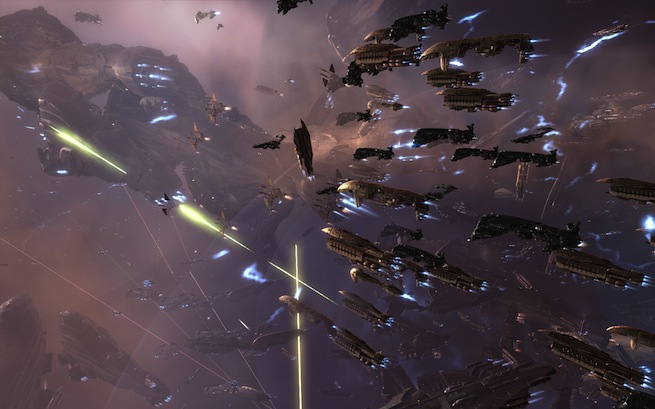 Eve Online war fleet