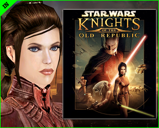 The original trilogy of Star Wars movies featured a total of zero female jedi, but KOTOR's Bastila alone could take down Palpatine's Empire. Well, maybe not, but she still looks awesome on the game's cover.