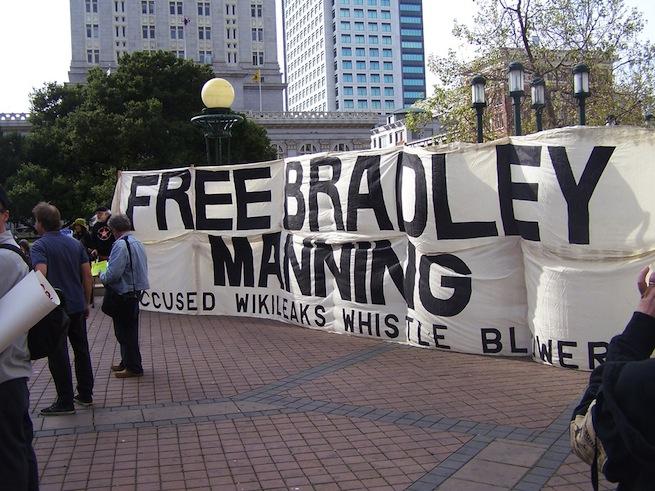 free Bradley Manning poster