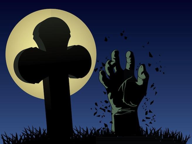 hand grave
