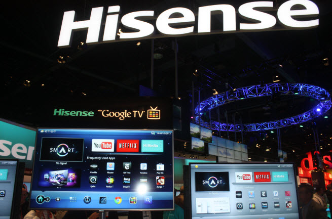 Hisense replaces Microsoft