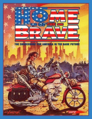 The U.S. ended up as something of a cross between Mad Max, Blade Runner, and Jericho.