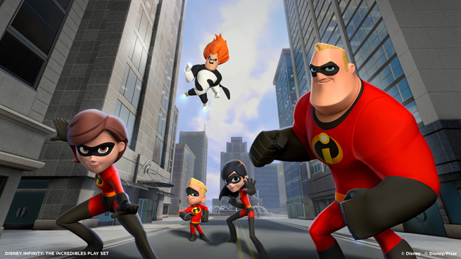 Disney Infinity -- The Incredibles