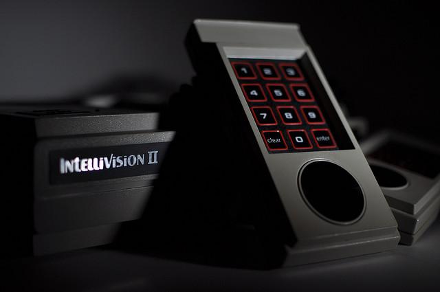 Intellivision 2 close up