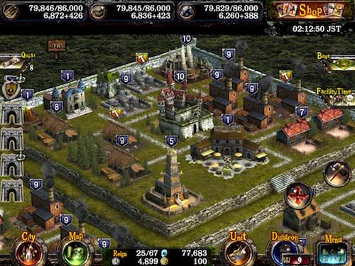 Kingdom Conquest 2 building your kingdom