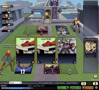 Legacy of Heroes screen 2