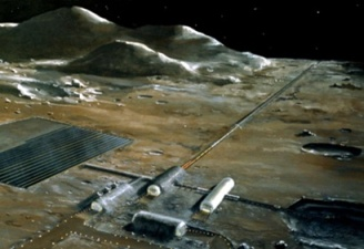 It can send cargo into Earth orbit for pickup. It can also drop giant rocks on cities.