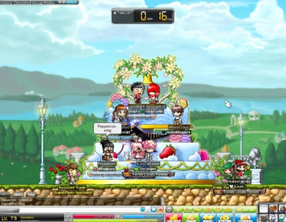 MapleStory wedding