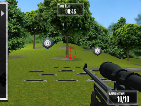 NRA: Practice Range is an iPhone and iPad app that simulates target practice