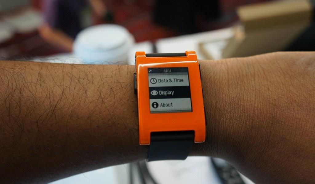 Pebble Smartwatch CES Press Conference