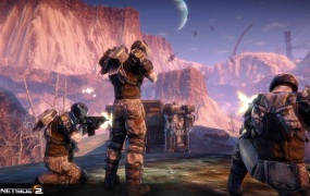 PlanetSide 2 soldiers