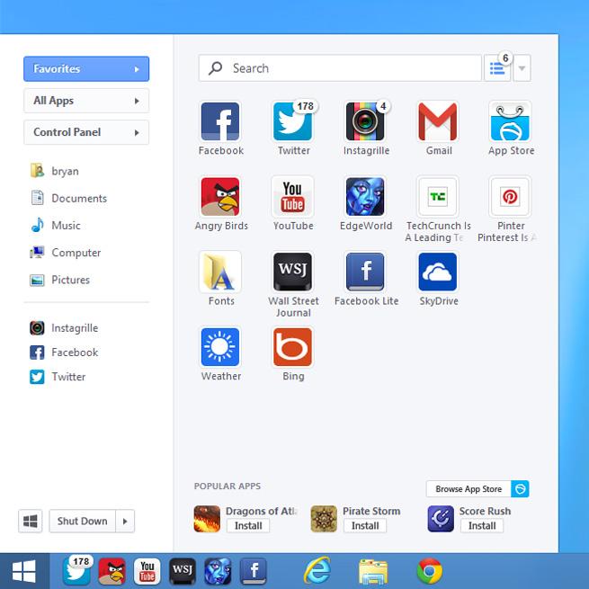 After 1 5M downloads, Pokki's Start menu for Windows 8 gets