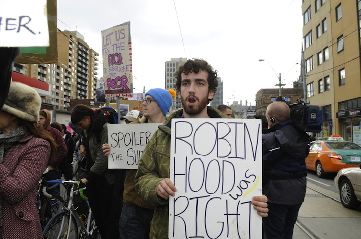 Protester