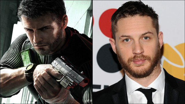 Sam Fisher Tom HArdy