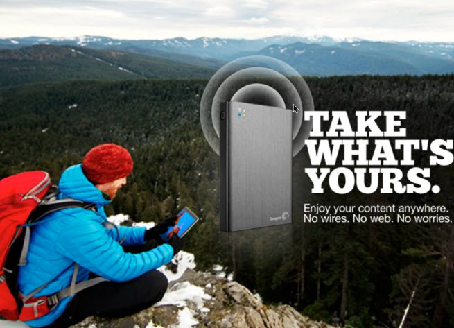 Seagate S Wireless Plus Mobile Storage Lets You Take Your