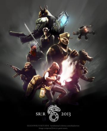 Shadowrun Returns characters
