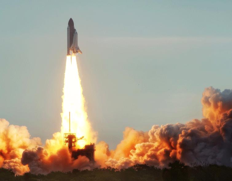 shuttle-take-off