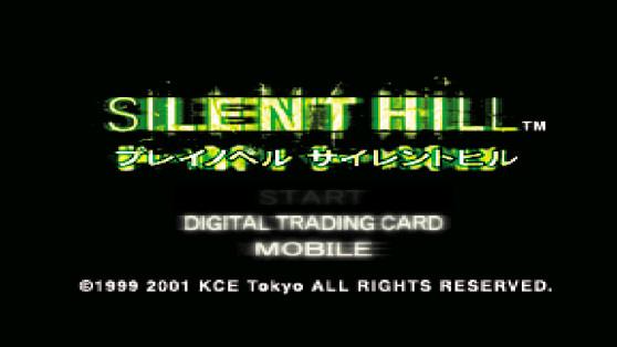 Silent Hill Play Novel start screen