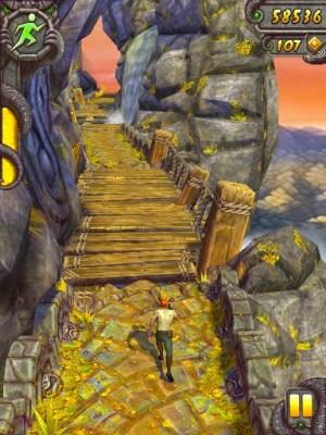 Temple Run 2 waterfall