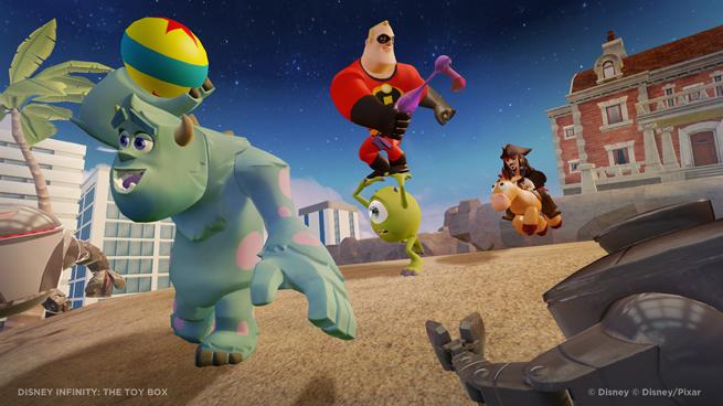 Disney Infinite -- Toy Box mode