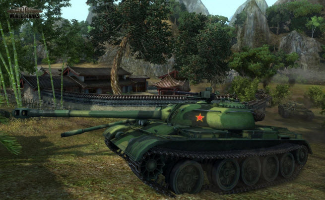 World of Tanks as it looked in 2013.