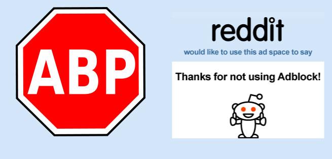 Adblock-Reddit