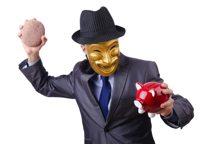 anonymous bank