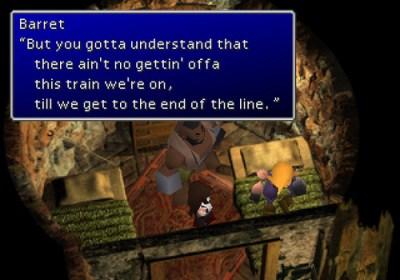 Barret Final Fantasy VII