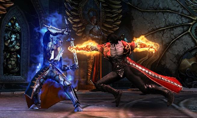 Castlevania: LoS - Mirror of Fate clash
