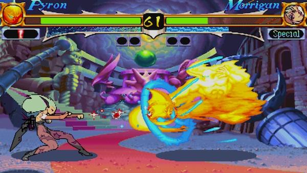 Darkstalkers Resurrection: Night Warriors' Morrigan