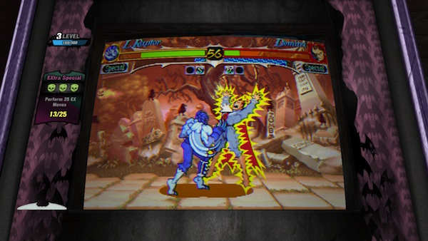 Darkstalkers Resurrection: Night Warriors' Demetri
