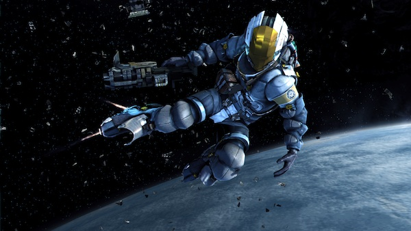 Dead Space 3 Isaac in space