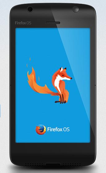 Mockup of Firefox OS
