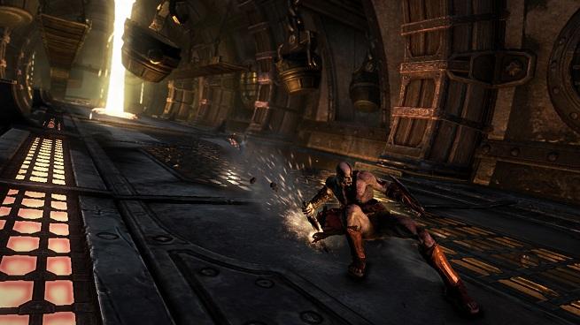 God of War Ascension Kratos slide