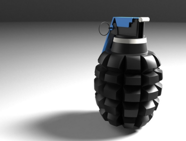 One of the two grenade models hosted by DEFCAD.